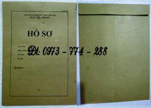 Bìa đựng hồ sơ bằng giấy