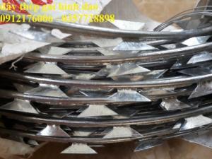 Chuyên sản xuất dây thép gai hình dao gi