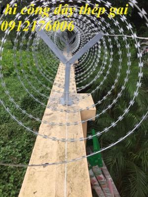 Chuyên sản xuất dây thép gai hình dao giá tốt nhất tại Hà Nội