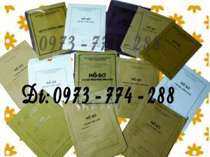 In các loại túi hồ sơ