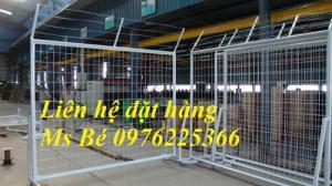 Hàng rào bảo vệ, hàng rào di động, khung lưới ngăn kho