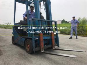Trường đào tạo nghề lái xe nâng hàng taị Đồng Nai