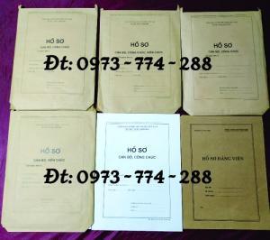 Túi hồ sơ công chức viên chức mẫu B01