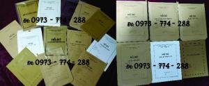 In bìa - vỏ - túi - bì đựng tài liệu Hồ sơ, Hồ sơ đảng viên, Công Chức, Viên Chức,
