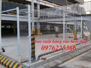 Hàng rào lưới thép mạ kẽm , hàng rào sơn tĩnh điện
