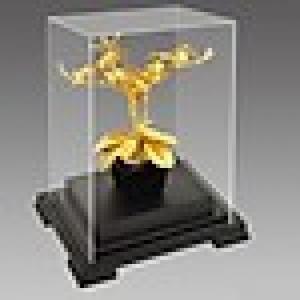 Mô hình hoa lan mạ vàng 24k