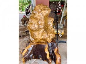 đá Mã não vàng khủng 300 kg