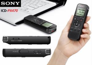 Máy ghi âm Sony ICD-PX470 thương hiệu chính hãng Sony