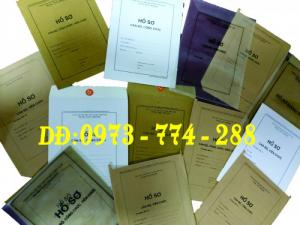Túi dùng đựng hồ sơ cán bộ công chức
