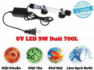 Đèn UV Led 9W Khử Mùi Làm Sạch Bể Cá Cảnh Dưới 700l