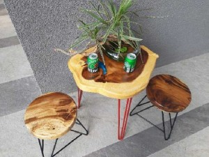 Bộ bàn 2 ghế _B2G 01