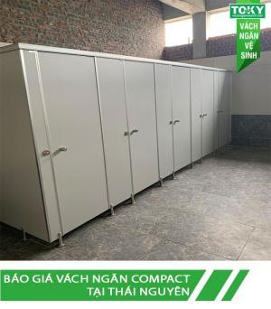 Giá vách ngăn vệ sinh compact tại Thái Nguyên