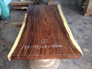 Mặt bàn gỗ me tây ME.T03