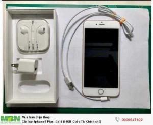 Cần bán Iphone 6 Plus -Gold (64GB-Quốc Tế/ Chính chủ)