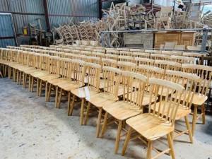 Ghế gỗ nhà hàng, quán cf...