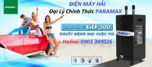 Loa kéo Paramax PRO GO 300 + khuyến mãi Đầu Karaoke Hi-end  Paramax LS-3000