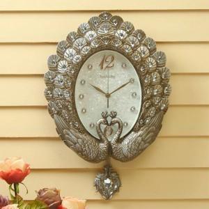 Đồng hồ treo tường đôi chim thiên nga phong thủy mang lại tình yêu đẹp, hạnh phúc