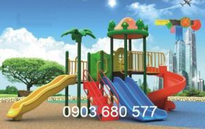 Cầu trượt trẻ em giá rẻ cho trường mầm non, khu vui chơi, công viên,...