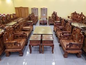 2019-10-17 13:36:40  4  Bộ Bàn Ghế Sơn Thủy 13 Món Chân 16 Gỗ Cẩm Lai Tuyển Sạch Giác 419,000,000