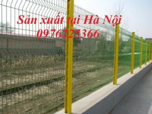 Lưới thép hàng rào mạ kẽm, hàng rào sơn tĩnh điện