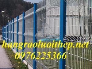 2019-10-17 18:07:03  4  Lưới thép hàng rào mạ kẽm, hàng rào sơn tĩnh điện 20,000