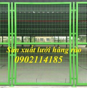2019-10-17 18:07:03  7  Lưới thép hàng rào mạ kẽm, hàng rào sơn tĩnh điện 20,000