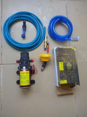 Bộ máy bơm rửa xe, tưới cây và vệ sinh máy lạnh cao cấp 12V-100W