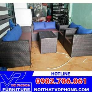 Bộ bàn ghế sô fa giá rẻ cho quán càfe nhà hàng khách sạn các khu resot