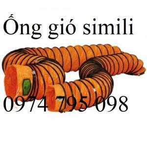 Ống gió mềm Simili hàng sẵn kho tại Hà Nội