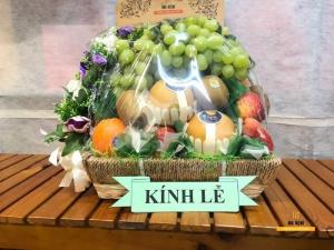 Giỏ trái cây viếng lãnh đạo - FSNK100
