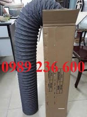 Ống gió bụi mềm vải Fiber xám Nhật Minh Hiếu