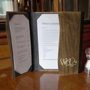Xưởng làm cuốn menu nhà hàng, cuốn menu kiếng, nơi cung cấp cuốn menu da, cuốn menu nhựa,