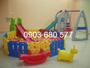 Cung cấp đồ chơi nhà banh trong nhà và ngoài trời cho trẻ em