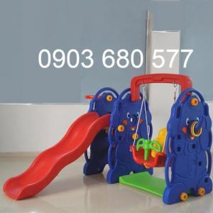 Cung cấp đồ chơi xích đu kèm cầu trượt cho trẻ em