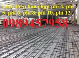 Nơi bán Lưới thép phi 6 ô 100x100, 150x150, 200x200 tại Hà Nội
