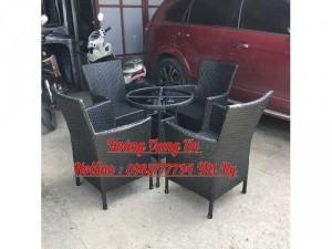 Thanh lý bộ bàn ghế cafe giá rẻ tại Sài