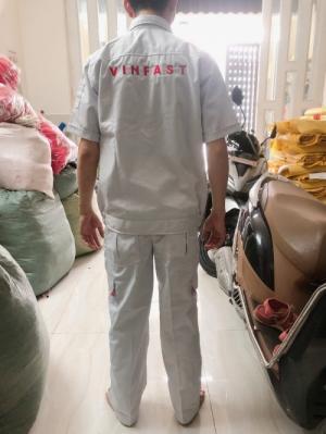 đồng phục kỹ thuật viên vinfast - cung cấp sỉ lẻ - xưởng may limac