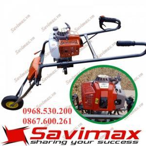 Nơi bán máy khoan lỗ trồng cây -loại có khung xe đẩy  tiện lợi cho bà con 0968.530.200