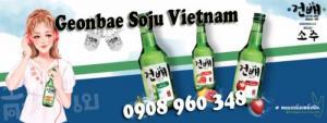 Geonbae Soju Vietnam Rượu soju Hàn Quốc
