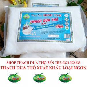 combo 2kg thạch dừa thô bến tre tặng kèm hương dừa