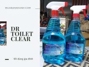 Dr Toilet Clear! Chất tẩy rửa theo công nghệ sinh học đã có mặt trên MBN!