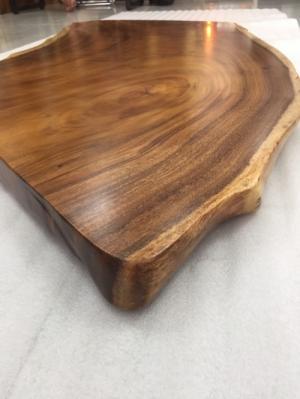 Mặt bàn Sofa Gỗ me tây nguyên tấm - A13