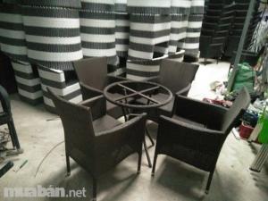 Chuyên cung cấp các loại bàn ghế nhựa giả mây phục vụ cho các công trình quán cà phê nhà hàng khách sạn quán bar phòng trà