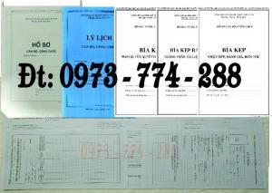 Bán buôn, sỉ, lẻ hồ sơ cán bộ công chức