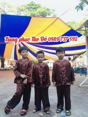 Cho thuê trang phục váy yếm, dân tộc hmong, tây nguyên trẻ em giá rẻ