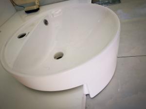 Chậu rửa bán âm - lavabo bán âm BS-02
