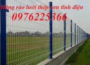 Hàng rào lưới thép - hàng rào ngăn kho - hàng rào nhà xưởng nhận sản xuất lắp đặt