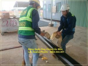 Băng quấn PREMCOTE101 - UK - bọc bảo vệ chống ăn mòn cho ống