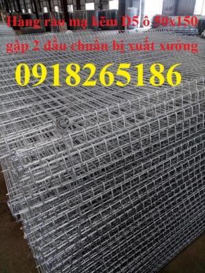 Sản xuất hàng rào mạ kẽm nhúng nóng phi 5 ô 50x50, 50x100, 50x150, 50x200 mới 100%