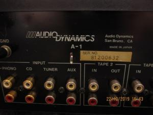 AMPLI AUDIO DYNAMICS A-1
